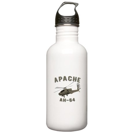 Apache AH-64 Stainless Water Bottle 1.0L
