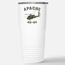 Apache AH-64 Stainless Steel Travel Mug