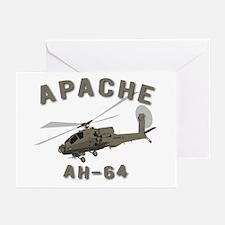 Apache AH-64 Greeting Cards (Pk of 20)