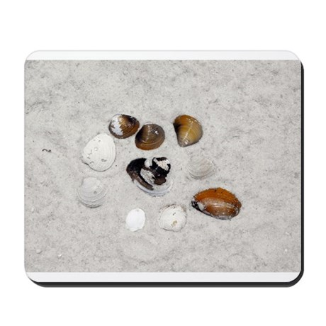 Seashells and Sand Mousepad