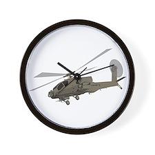 Apache AH-64 Wall Clock