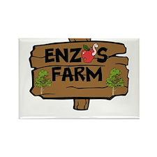 Enzos Farm Rectangle Magnet