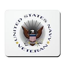 US Navy Veteran Eagle Mousepad