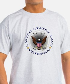 US Navy Veteran Eagle T-Shirt