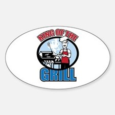 Chef Dad Sticker (Oval)