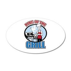 Chef Dad 22x14 Oval Wall Peel