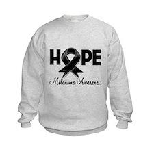 Hope Ribbon Melanoma Sweatshirt