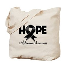 Hope Ribbon Melanoma Tote Bag