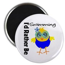 I'd Rather Be Swimming Chick Magnet