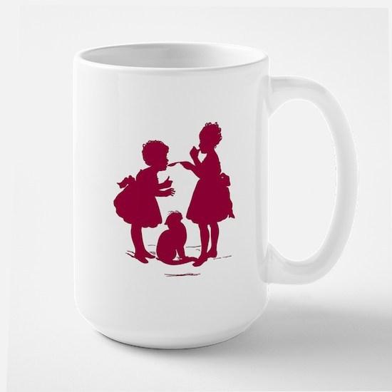 Taste It Silhouette Large Mug