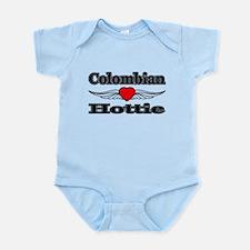 Funny Colombian women Infant Bodysuit