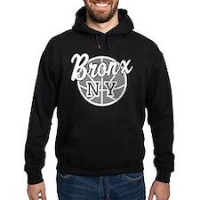 Bronx NY Basketball Hoodie