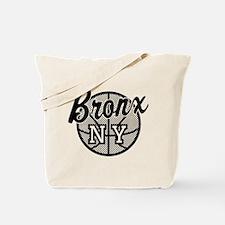 Bronx NY Basketball Tote Bag