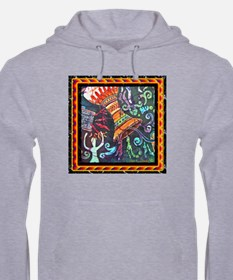 Drums Jumper Hoody