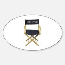 Director - Oval Decal