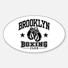 Brooklyn Boxing Sticker (Oval)