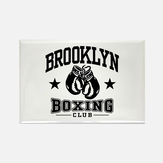 Brooklyn Boxing Rectangle Magnet