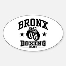 Bronx Boxing Sticker (Oval)