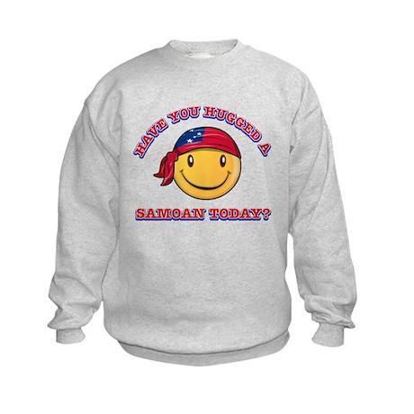 Hugged a Samoan Today? Kids Sweatshirt