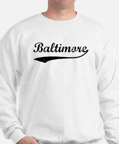 Vintage Baltimore Sweatshirt