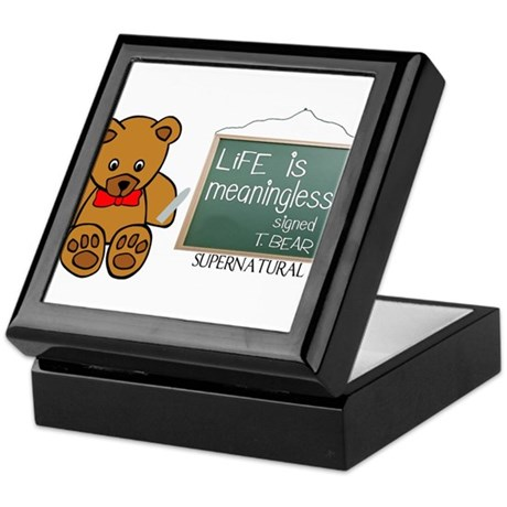Supernatural- T.Bear Keepsake Box