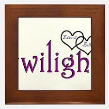 Twilight Couples- Edward/Bell Framed Tile
