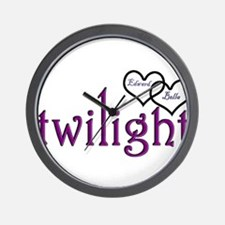 Twilight Couples- Edward/Bell Wall Clock