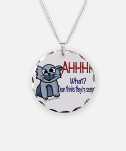 Scary Kitty Necklace