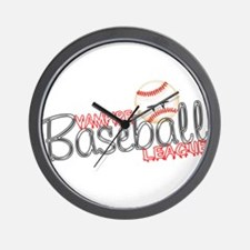 Vampire Baseball League- Twil Wall Clock