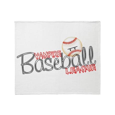 Vampire Baseball League- Twil Throw Blanket