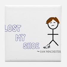 Sammy Lost His Shoe Tile Coaster
