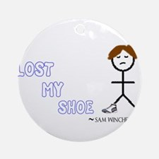 Sammy Lost His Shoe Ornament (Round)