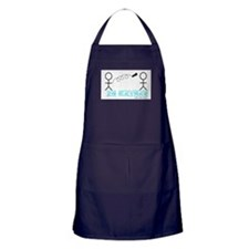 Dean is Batman Apron (dark)