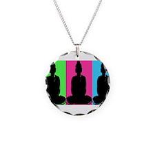 Buddha Warhol Style Necklace