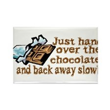 Gimme Chocolate Rectangle Magnet (10 pack)