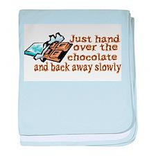 Gimme Chocolate baby blanket
