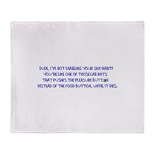 SNQuote1 Throw Blanket