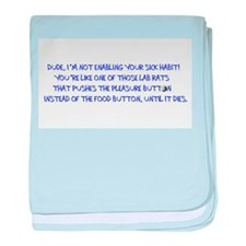 SNQuote1 baby blanket