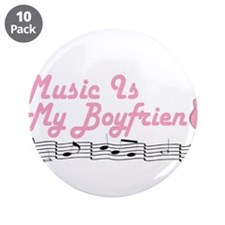 "Music 1 3.5"" Button (10 pack)"