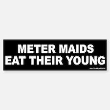 Meter Maids Bumper Bumper Sticker