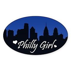 Philly Girl (Skyline) Decal