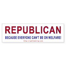 Republican Bumper Bumper Sticker