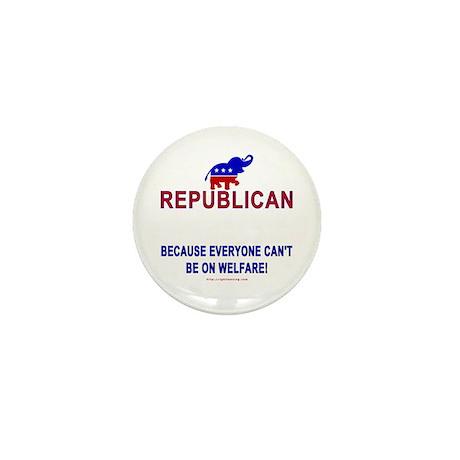 Republican Mini Button