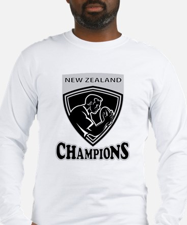 New Zealand rugby Long Sleeve T-Shirt