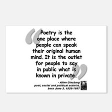 Ginsberg People Quote Postcards (Package of 8)