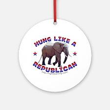 """Hung like a Republican"" Keepsake"