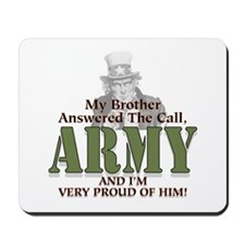 Army Brother Mousepad