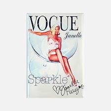 Sparkle Janelle Magnet
