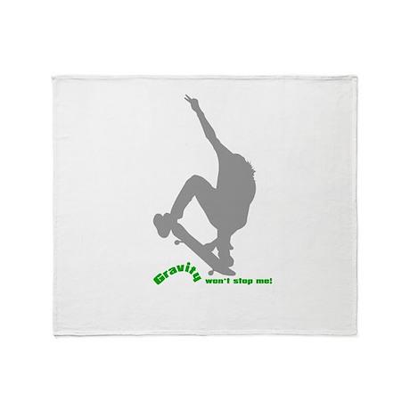 Gravity Wear - Skate Boarding Throw Blanket