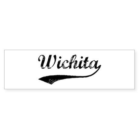 Vintage Wichita Bumper Sticker